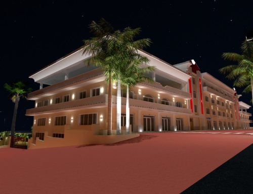 Progetto in 3D – Majestic Business Center