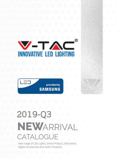 scarica il catalogo completo dei nuovi arrivi illuminazione a led v-tac 2019 q3